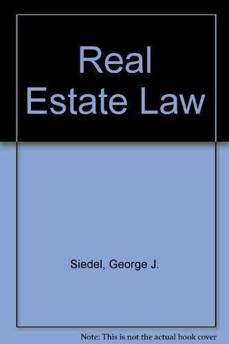 9780314012173: Real Estate Law
