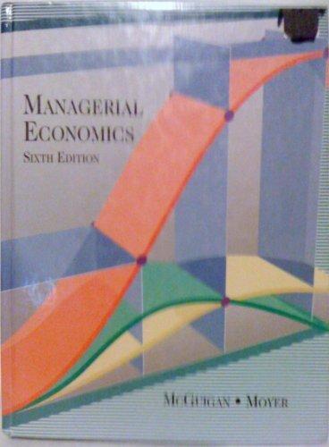 9780314012203: Managerial Economics