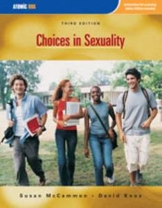 9780314012678: Choices in Sexuality