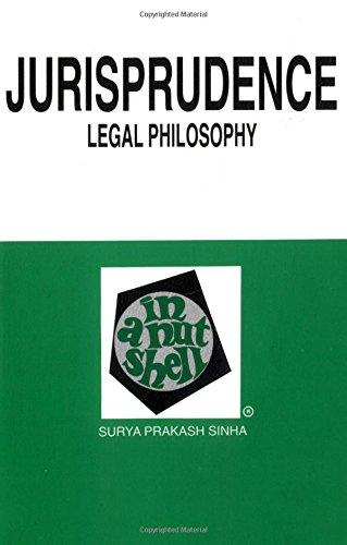 9780314013798: Jurisprudence: Legal Philosophy in a Nutshell (Nutshell Series)