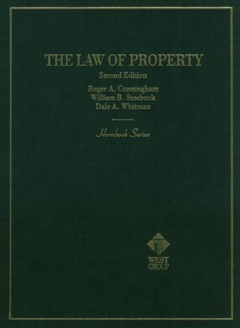 9780314013897: The Law of Property (Hornbook Series Student Edition)