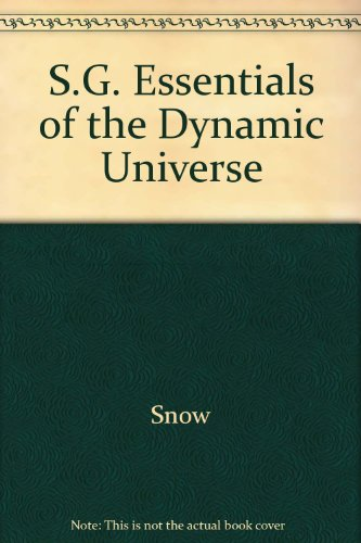 9780314019967: S.G. Essentials of the Dynamic Universe