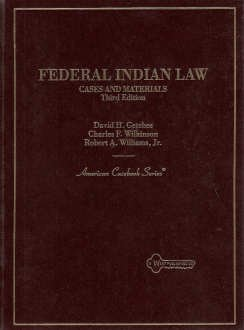 9780314022684: Cases and Materials on Federal Indian Law (American Casebook Series)