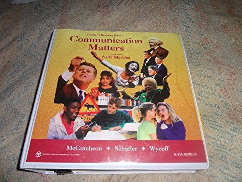 9780314023025: Communication Matters - Teachers Resource Binder