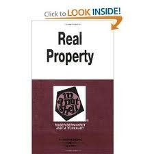 9780314024367: Real Property in a Nutshell