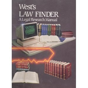 West's Law Finder a Legal Research Manual