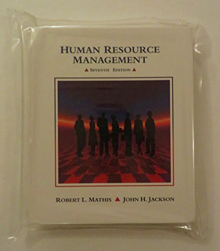 Human Resource Management: Robert L. Mathis,