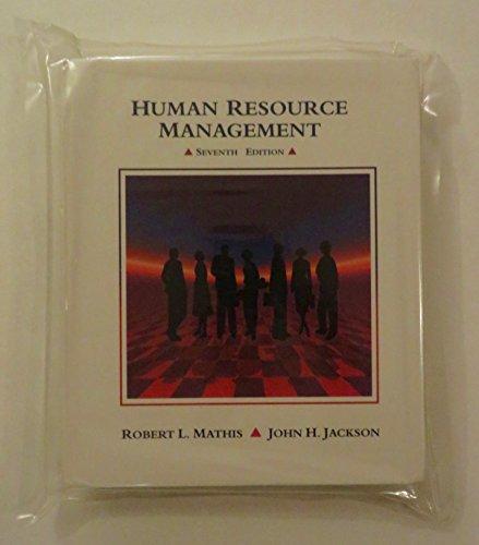 9780314025296: Human Resource Management