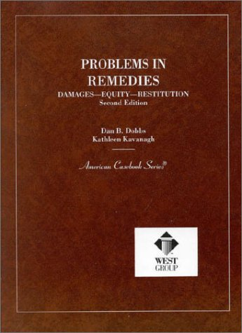 9780314026194: Problems in Remedies (Coursebook)