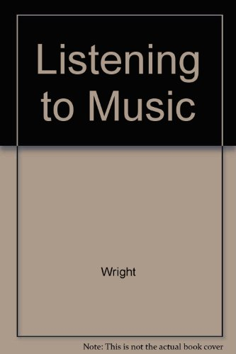 9780314026392: Listening To Music