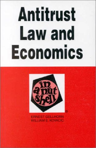 9780314026835: Antitrust Law and Economics in a Nutshell (Nutshell Series)