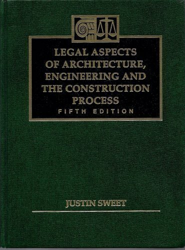 9780314027061: Legal Aspects of Architecture, Engineering, and the Construction Process