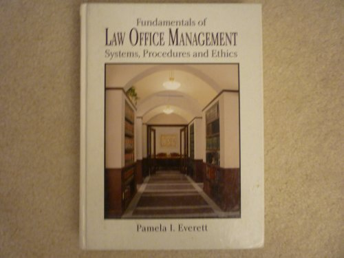 9780314027078: Fundamentals of Law Office Management: Systems, Procedures, and Ethics