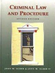 9780314027658: Criminal Law and Procedure