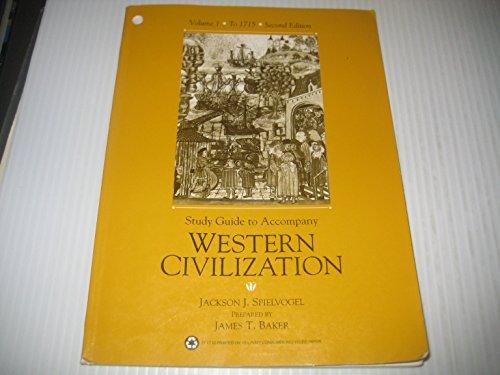 Sg Western Civilization Vol I to 1715: Jackson J. Spielvogel