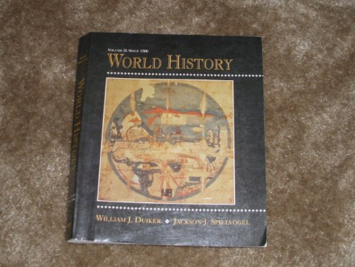 9780314028464: World History; Volume II: Since 1500