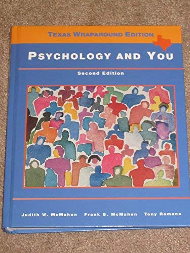 9780314029683: Psychology and You Texas Wraparound Edition (Second edition)
