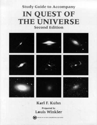 9780314030535: In Quest of the Universe: Study Guide, 2nd Edition