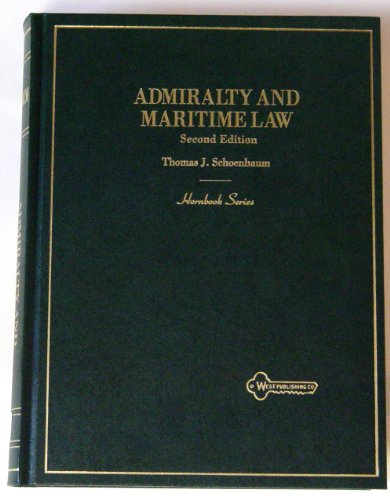 9780314037220: Admiralty and Maritime Law (Hornbook Series)