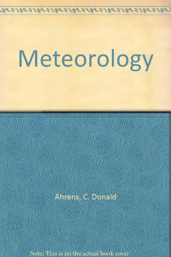 9780314039705: Meteorology Today: An Introduction to Weather, Climate, and the Environment
