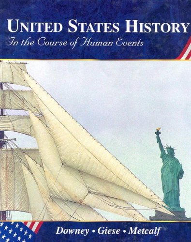 9780314040213: United States History: In the Course of Human Events