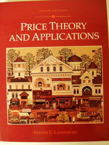 9780314040596: Price Theory and Applications