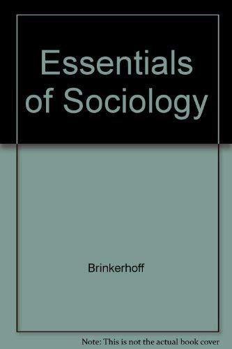 9780314041760: Essentials of Sociology