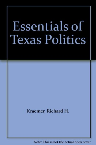 9780314042255: Essentials of Texas Politics