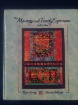 9780314043900: Marriage and Family Experience