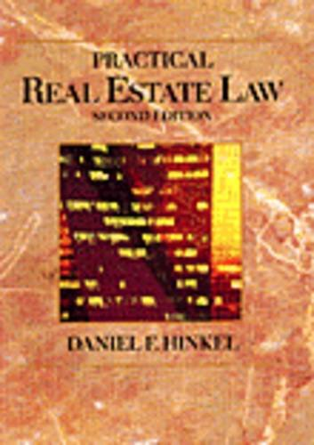 9780314045836: Practical Real Estate Law: Second Edition