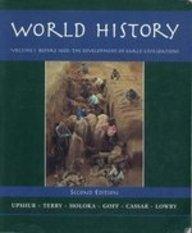 World History: Before 1600: The Development of: Upshur, Jiu-Hwa L.;