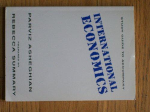 9780314047786: Study Guide to Accompany International Economics
