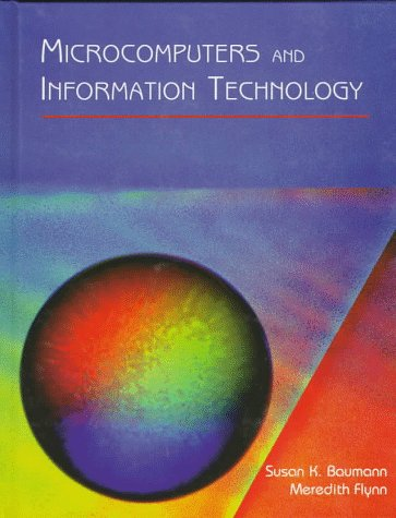 9780314049445: Microcomputers and Information Technology