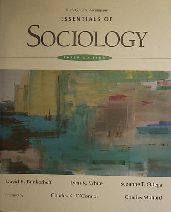 9780314049773: Essentials of Sociology Study GD