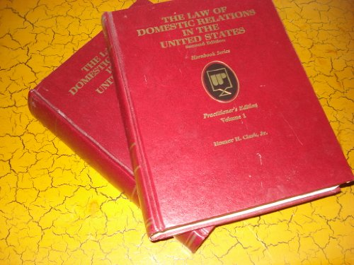 9780314054722: The Law of Domestic Relations in the United States: Practitioner's Edition (2 volumes)