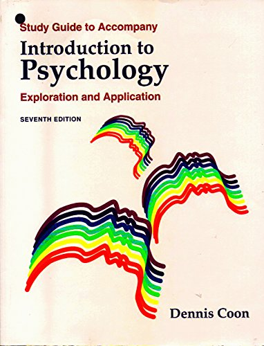 9780314059697: Introduction to Psychology: Exploration and Application