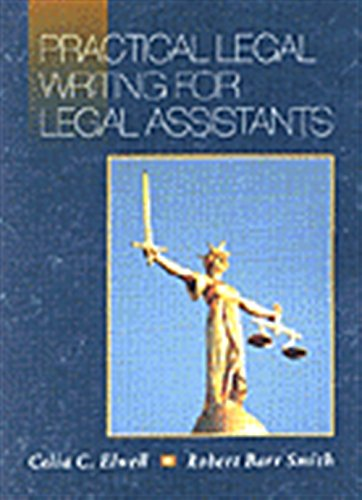 9780314061157: Practical Legal Writing for Legal Assistants