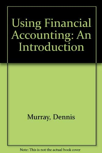 9780314061256: Using Financial Accounting: An Introduction