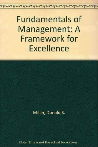 9780314062307: Fundamentals of Management: A Framework for Excellence