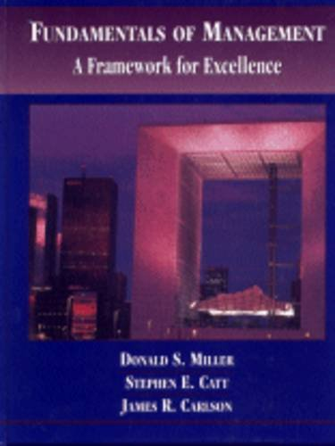 9780314062314: Fundamentals of Management: A Framework for Excellence