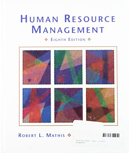 9780314062468: Human Resource Management