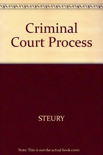 9780314063205: Criminal Court Process