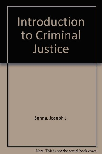 9780314063847: Introduction to Criminal Justice