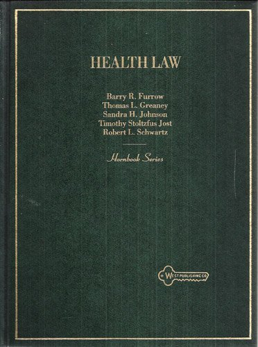 9780314064578: Health Law (Hornbook Series)