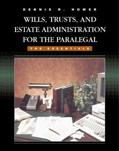 9780314064820: Wills, Trusts, and Estate Administration for the Paralegal: The Essentials