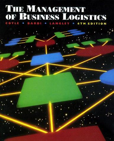 9780314065070: The Management of Business Logistics