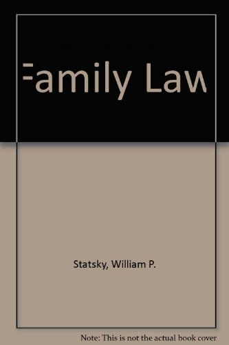 Family Law: Krause, Harry D.