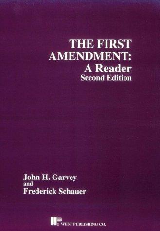 9780314066732: The First Amendment: A Reader (Coursebook)