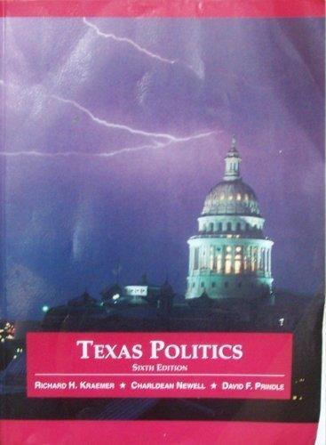 9780314067005: Texas Politics