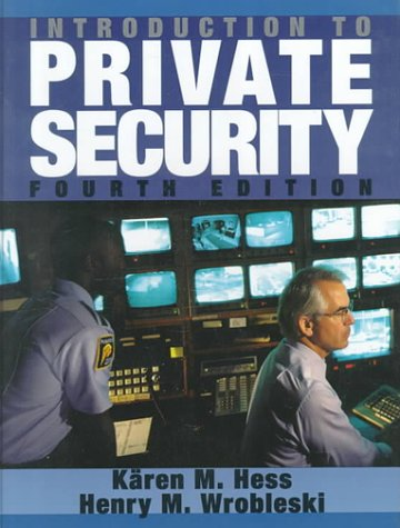 9780314067326: Introduction to Private Security